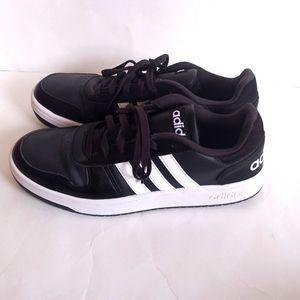 adidas 3-Stripe black and white Sneakers 10 Medium